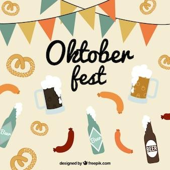 La nourriture typique pour oktoberfest