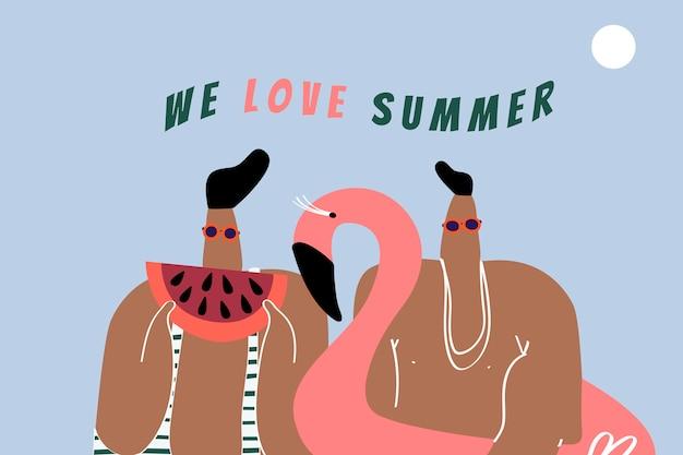 Nous aimons l'été