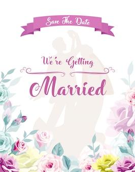 Nous allons nous marier invitation