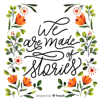 Nous sommes faits d'histoires
