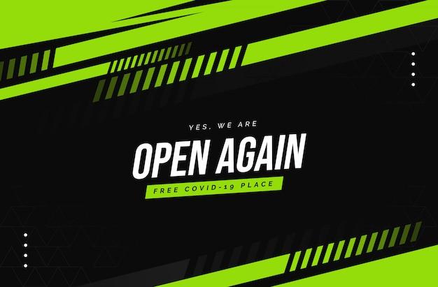 Nous sommes à nouveau ouverts