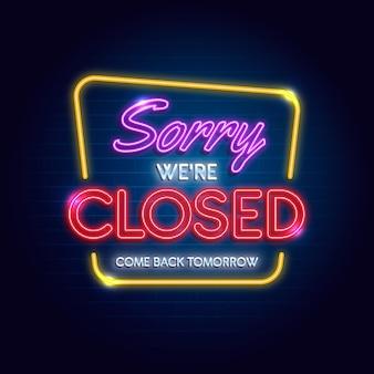 Nous sommes signe fermé