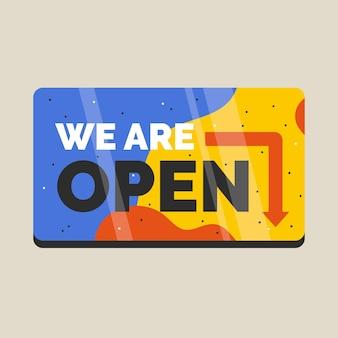 Nous sommes signe ouvert