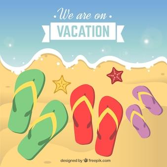 Nous sommes en vacances