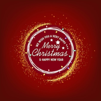 Nous vous souhaitons un joyeux noël et une bonne année