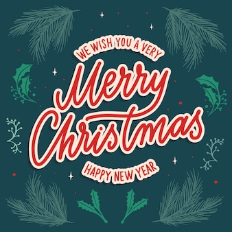 Nous vous souhaitons un très joyeux noël et une bonne année