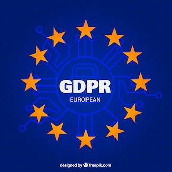 Nouveau concept gdpr européen