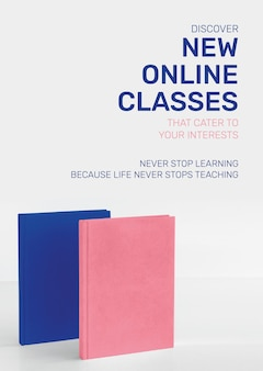 Nouveau modèle de cours en ligne technologie future