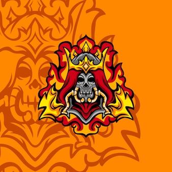 Nouveau signe hell king pour mascotte, signe ou autre jeu d'équipe