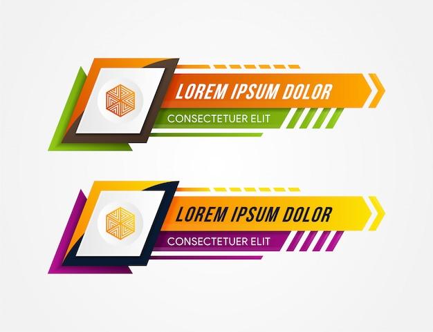 Ces nouveaux panneaux par le transistor de jeu, qui utilise également ce genre de style d'art futuriste antique. couvrir chaque panneau. style de coupe de papier. les dessins utilisent une combinaison de trois couleurs.