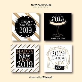 Nouvel an 2019 cartes