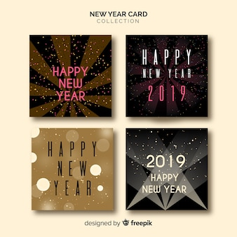 Nouvel an 2019 cartes