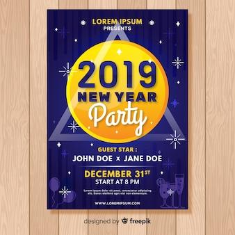 Nouvel an 2019 flyer du parti
