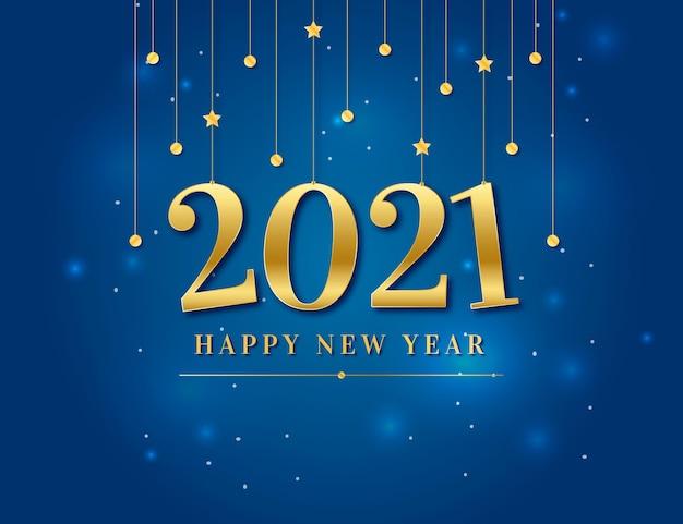 Nouvel an doré 2021