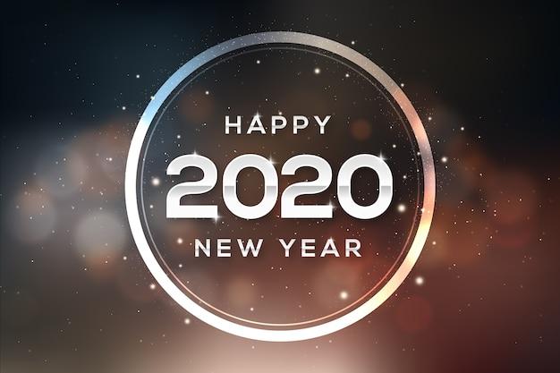 Nouvelle année 2020 floue