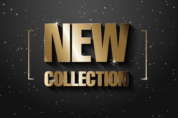 Nouvelle bannière de collection