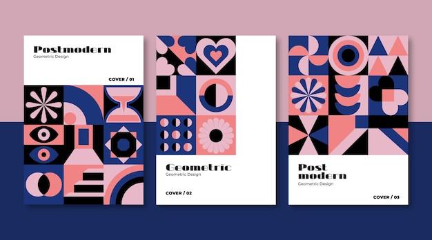 Nouvelle collection de couvertures professionnelles d'esthétique moderniste