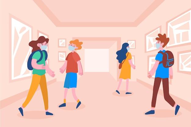 Nouvelle normalité dans les musées