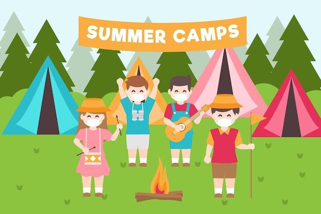 Nouvelle norme dans les camps d'été