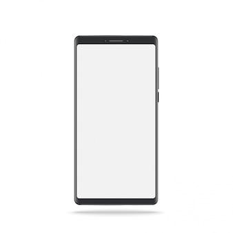 Nouvelle version du smartphone slim noir.