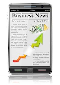 Nouvelles affaires sur téléphone intelligent
