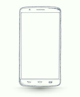 Nouvelles maquettes de smartphones réalistes