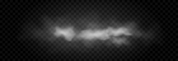 Nuage de fumée ou de brouillard. brouillard ou nuage