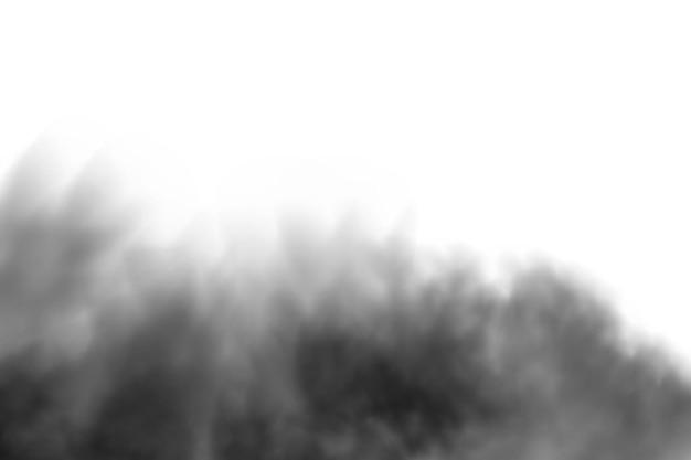 Nuage de fumée noire