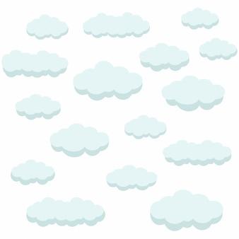 Nuages air bleu ciel