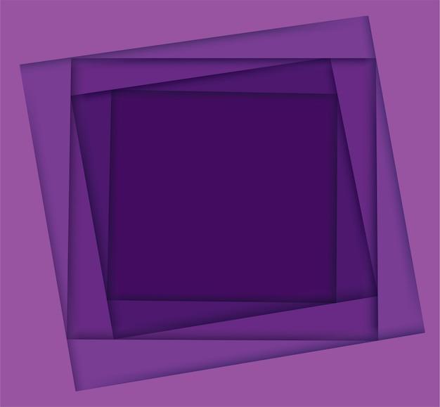 Nuances de fond carré violet