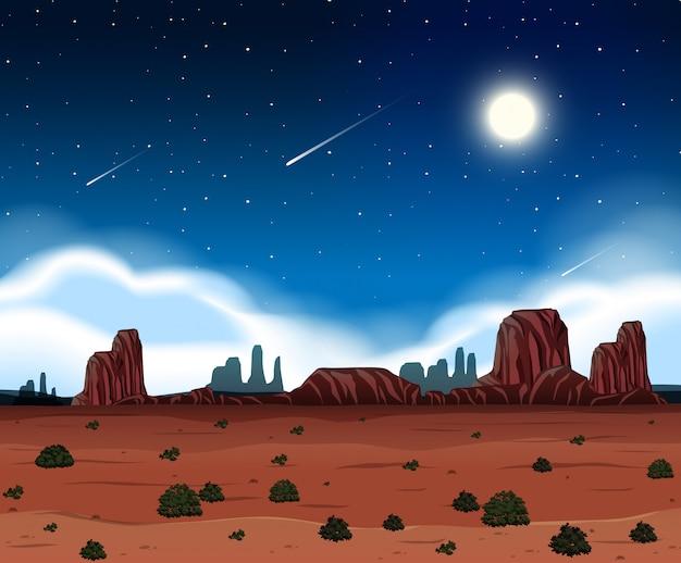 Une nuit au désert