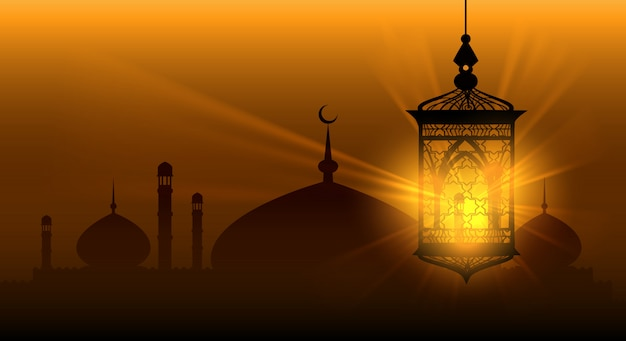 Nuits arabes ramadan kareem islamique fond