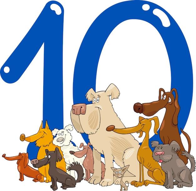 Numéro dix et 10 chiens