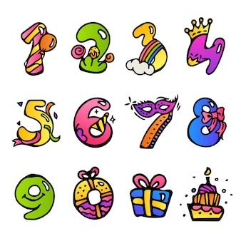 Numéros d'anniversaire