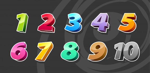 Numéros de dessin animé