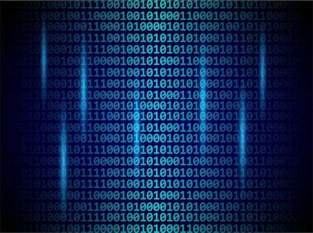 Numéros numériques de code binaire