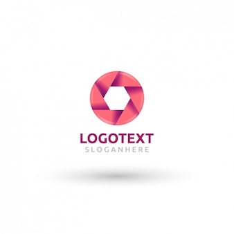 Objectif rose logotype