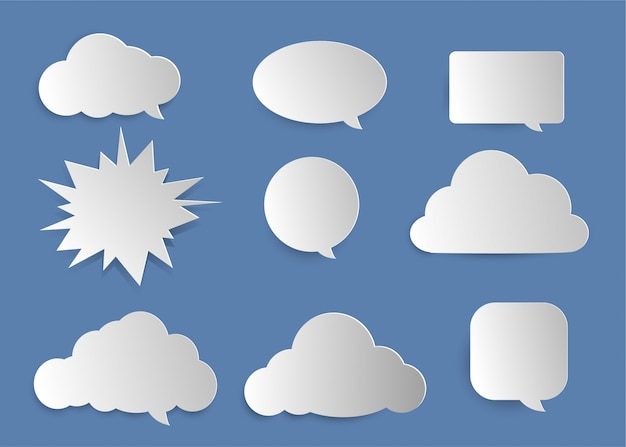Objet mot nuage mignon.
