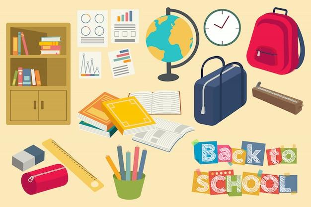Objet de retour à l'école