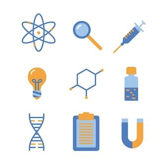 Objets de laboratoire scientifique