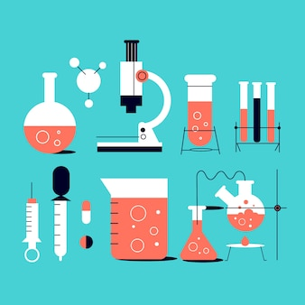 Objets de laboratoire scientifique