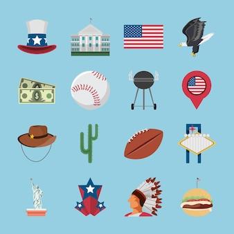 Objets et symboles américains