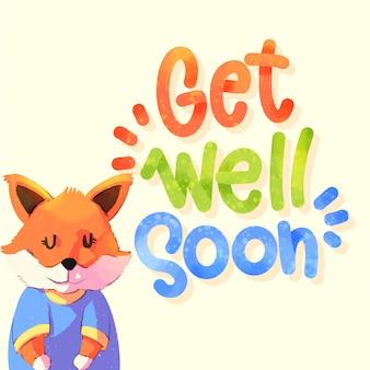 Obtenez bientôt un message avec fox