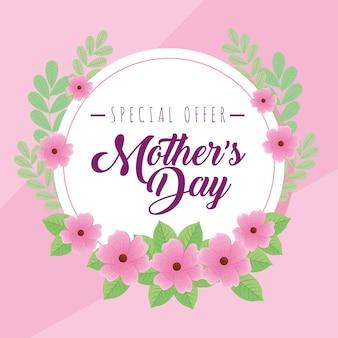 Offre fête des mères en cercle