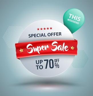 Offre spéciale super vente