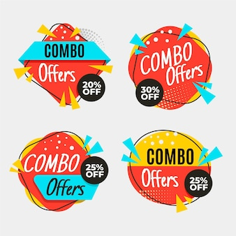 Offres combo - labels
