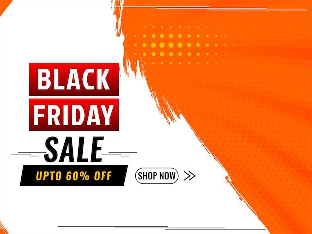 Offres de vente du vendredi noir et arrière-plan de l'offre