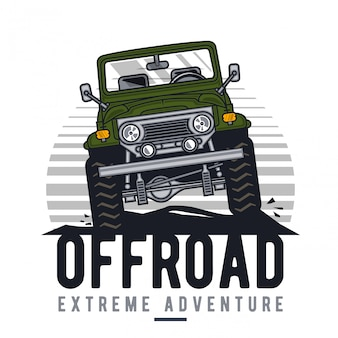 Offroad extreme adventure