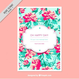 Oh happy day !, brochure