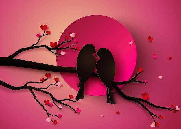 Oiseau amoureux